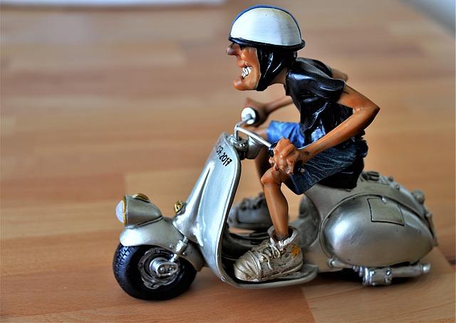 Verzekering bij een opgevoerde scooter ?