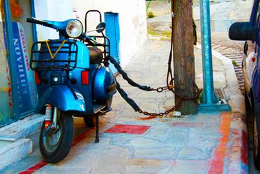 Mijn scooter is gestolen wat nu?